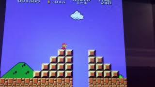 The original super Mario bros gameplay