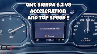 GMC Sierra 6.2L AT4 | Acceleration test and top SPEED | 0-60 Mph / 0-100 Km/h