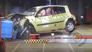 RENAULT MEGANE 2 CRASH