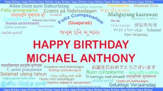 Michael Anthony   Languages Idiomas - Happy Birthday