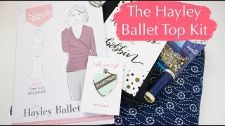 The Hayley Ballet Top Dressmaking Kit