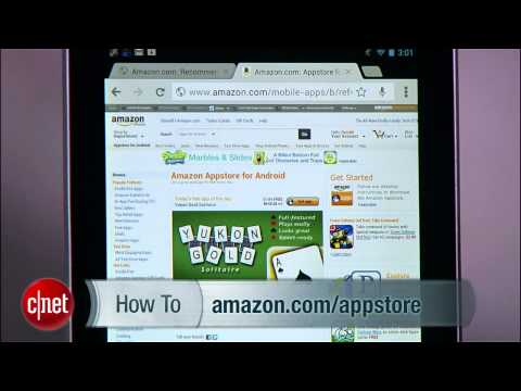 CNET How To - Turn your Nexus 7 into a Kindle Fire
