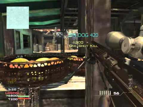 MW3 :: Sniper Gameplay