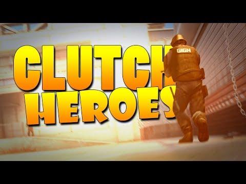 CS:GO - Clutch Heroes! #35
