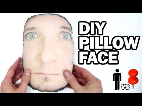 DIY Pillow Face - Man Vs. Pin #9