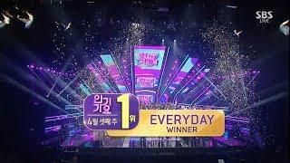 WINNER - ?EVERYDAY? 0415 SBS Inkigayo : NO.1 OF THE WEEK