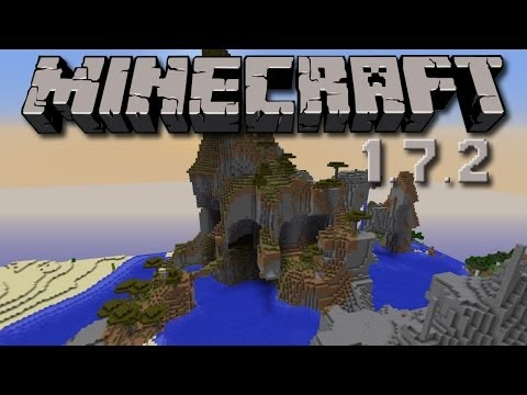 Minecraft 1.7.2 Seed - Villages, Temples, Mesa and Awesome Savanna Plateau!