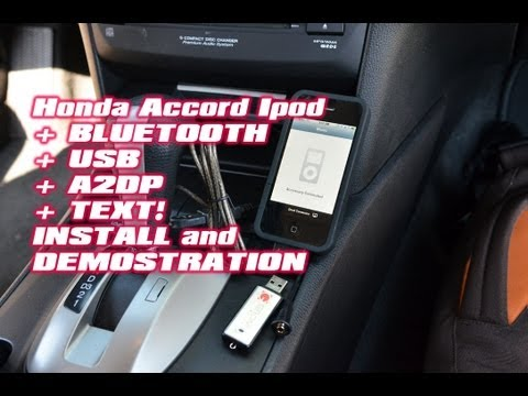 Honda Accord IPOD & BLUETOOTH .USB.Aux.Dice Mediabridge AMBR-1500-HON by Autotoys.com (A2DP & AVRCP)