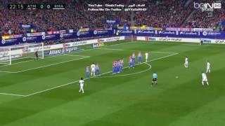 الدوري الإسباني : أتلتيكو مدريد - ريال مدريد ( هاتريك رونالدو HD ) عصام الشوالي 19 - 11 - 2016