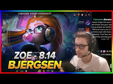 717. Bjergsen - Zoe vs Cassiopeia - Mid | S8 Patch 8.14 - NA Challenger   July 23, 2018