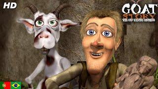 Uma Fazenda Maluca - Goat story - Filme animado português dublado completo  (HD)