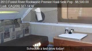 2013 Forest River Rockwood Premier Hard Side Pop  for sale i
