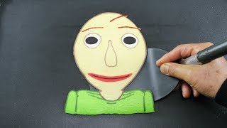 Baldi's Basics: The PANCAKE (Learn to Color and Cook)