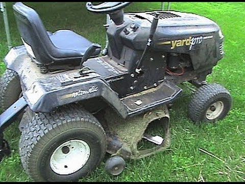 Installing A Bagger On My Yard Pro Lawn Tractor Youtube