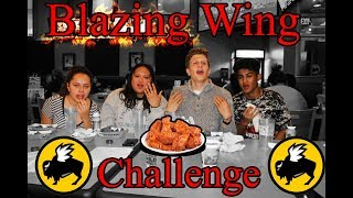They Attempt The Buffalo Wild Wings Challenge !!!