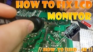 How to fix LCD monitor // How-To (UHD - 4K !)