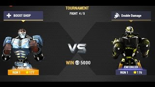 Real Steel Champions | TOURNAMENT | Ambush VS Enforcer NEW ROBOTS GAME (Живая Сталь)