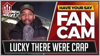 """Smash & Grab Lukaku"" Huddersfield 0-2 Manchester United Flex FanCam"