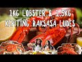 Gila! 1kg Lobster Kanada + 1,5 Kepiting Raksasa Alaska Ludes! ft. Shelly Che