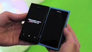 Nokia Lumia 800 demo