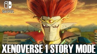 HOW TO UNLOCK THE XENOVERSE 1 STORY MODE!!! Dragon Ball Xenoverse 2 for Nintendo Switch Gameplay!