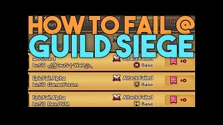 How to Fail at GUILD SIEGE in SUMMONERS WAR
