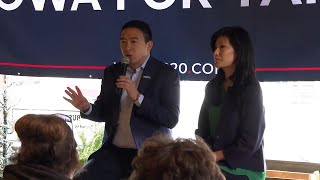 Andrew Yang's Wife Says She Was Sexually Assaulted