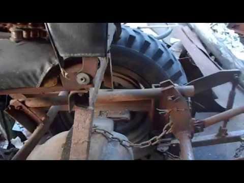 Механическая навеска на самодельный трактор
