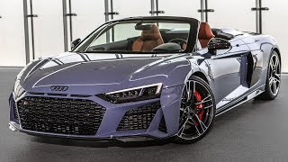 2019/20 AUDI R8 - FIRST OFFICIAL FOOTAGE!! - New front/rear design, upgraded engines, and more!