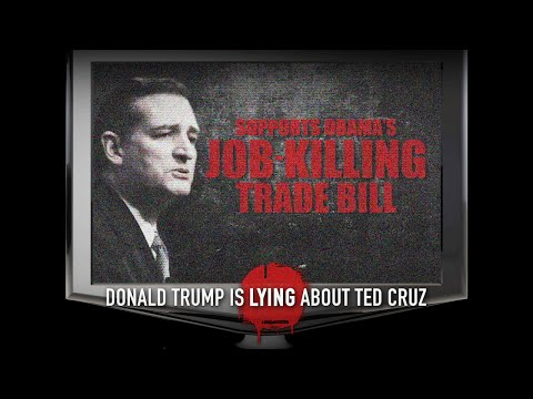 Donald Trump is Lying About Ted Cruz | #CruzCarly2016
