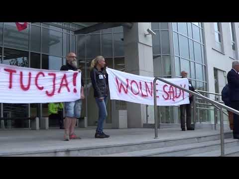 Manifestacja W Radomiu W Obronie Sądu Najwyższego