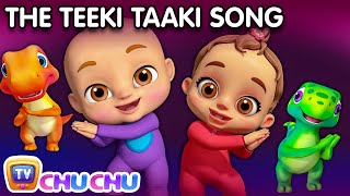 You put your right hand in - Teeki Taaki Action Song - Nursery Rhymes & Songs For Babies - ChuChu TV