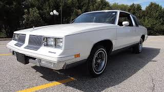 1986 Olds Cutlass Supreme only 38,852 original miles excellent condition for sale at Coyote Classics