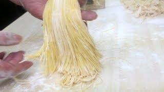 完全 手打ちパスタ♪ Homemade Pasta without machine ♪