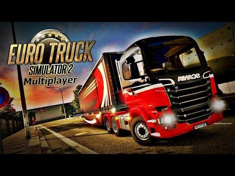 Comboio Perigoso - Euro Truck Simulator 2 Multiplayer (LIVE HD) + Logitech G27