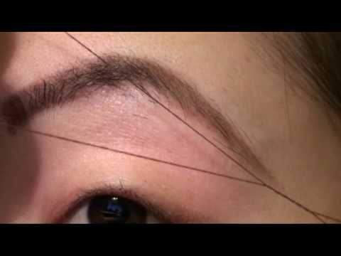 Beauty Basics: Threading Eyebrows