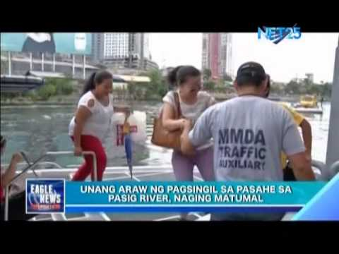 Pasig River ferry starts collecting fares despite few passengers