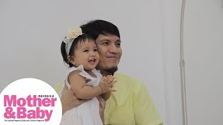 Behind The Scene: Pemotretan Cover Desta Father&Baby Juni 2015
