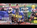 PRETENDING TO BE A NOOB IN RULES OF SURVIVAL! (Tagalog)