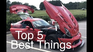 Top 5 Reasons I Love My Supercar 2017 Dodge Viper ACR Extreme