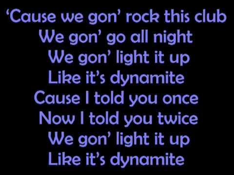 Taio Cruz-dynamite Lyrics.flv video