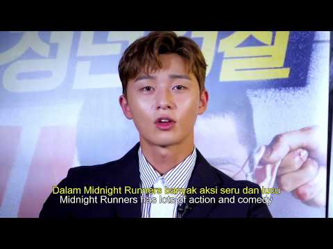 Park Seo Joon & Kang Ha Neul Greeting to Indonesia Fans For 'Midnight Runners'