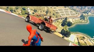 GTA 5 , Spiderman Ragdolls , Falls , Jump, Fight Episode 1.