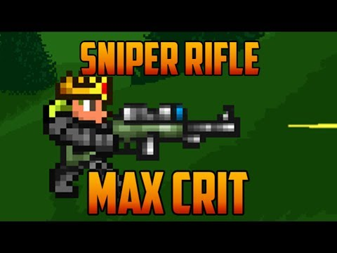 Terraria - Sniper Rifle, max crit loadout