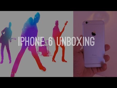 iPhone 6 Silver + iPhone 6 Gold Dual Unboxing, Overview and Size Comparison