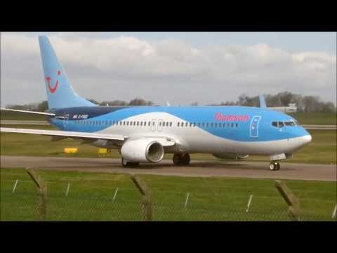 Thomson Airways | 737-800 | Dreamliner Livery | G-FDZE | Takeoff At East Midlands Airport | HD