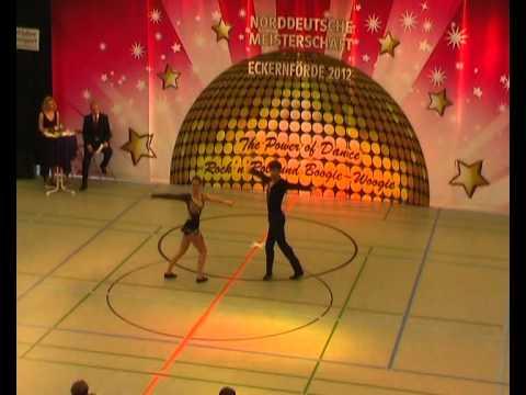 Coletta Braun & Philipp Seidenschwarz - Norddeutsche Meisterschaft 2012