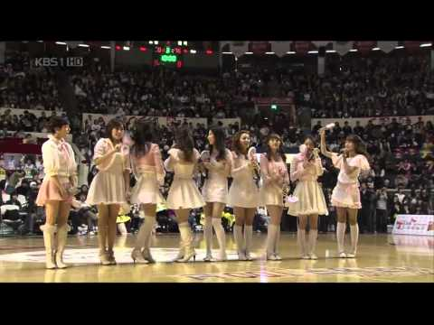 080301 Snsd - Kissing You + Girl'sgeneration Kbl 2008 All-star Celebration video