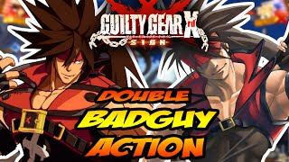 DOUBLE BADGUY! WEEK OF - Guilty Gear Xrd Online Ranked: Part 2