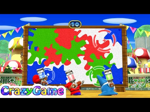 Mario Party 9 Step It Up #90 (Free for All Minigames)